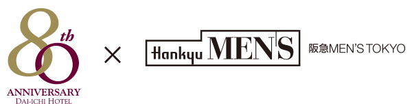 80th × Hankyu MENS 阪急MEN'S TOKYO