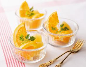 フルーツのクープの写真