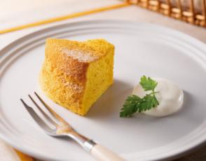 パンプキン・シフォンケーキの写真