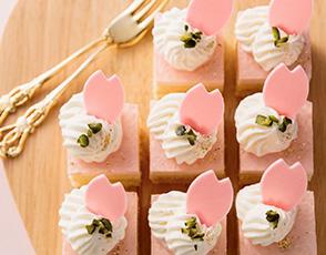桜のムースの写真