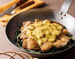 鶏もも肉のワシントン風の写真