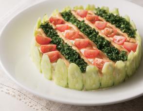 枝豆とポテトのサラダ 海老味噌風味