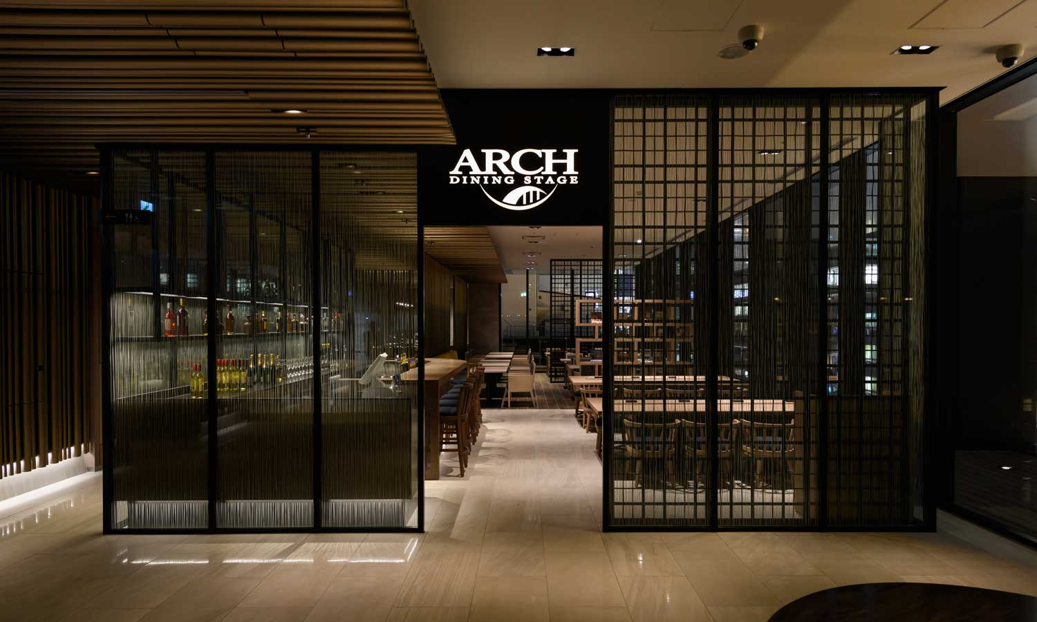 DINING STAGE ARCH | remm Tokyo Kyobashi